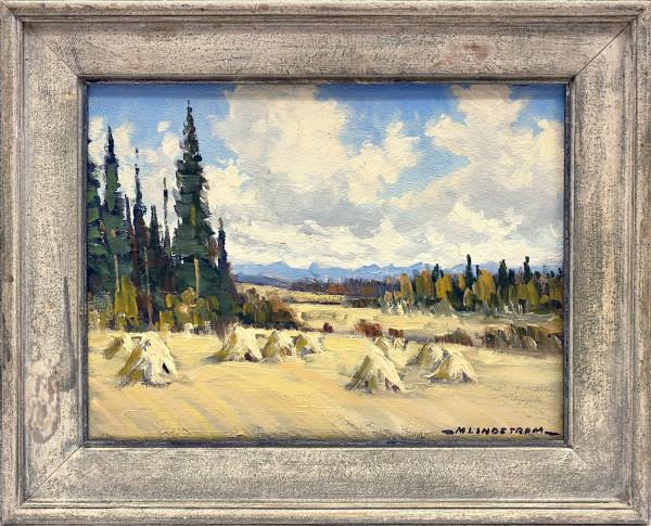 1954 - At Spring Bank by Matt Lindstrom (1889-1975)