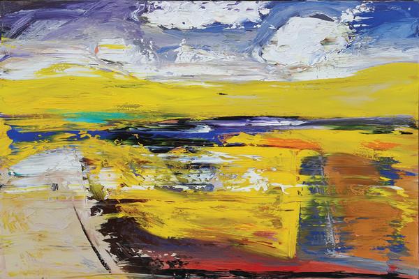 1966 - Yellow Embellished by Matt Petley-Jones