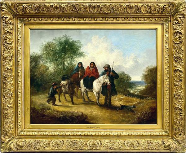 1989 - Homewards by John Joseph BARKER of Bath ( 1824 - 1904 )