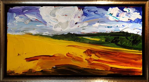 0582 - Yellow Slope by Matt Petley-Jones
