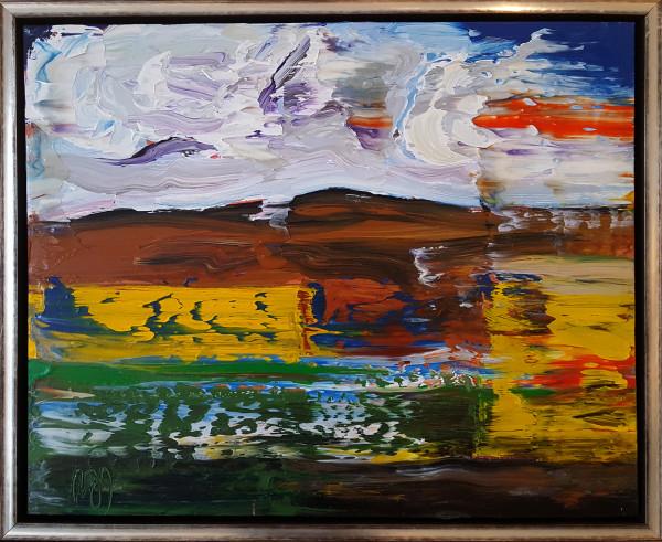 0543 - Reflective Orange by Matt Petley-Jones