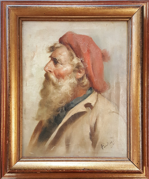 0312 - Man with a Red Cap by Forlanza