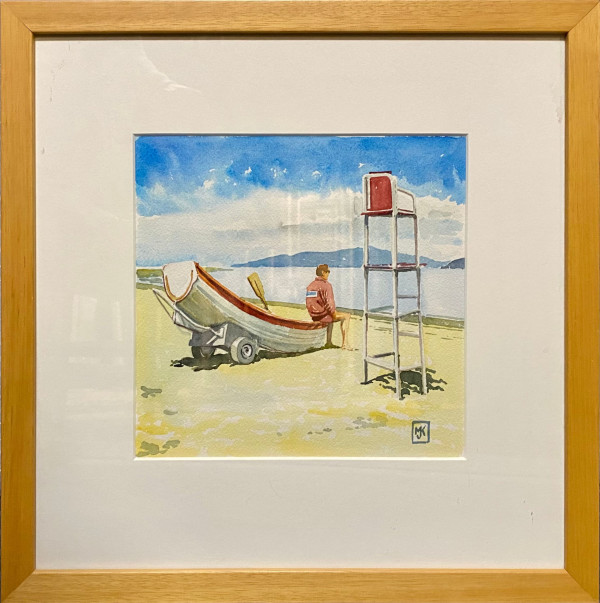 2045 - The Lifeguard by Michael Kluckner
