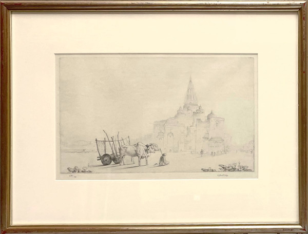 2076 - Evening Quiet by Edward Julius Detmold (1883-1957)