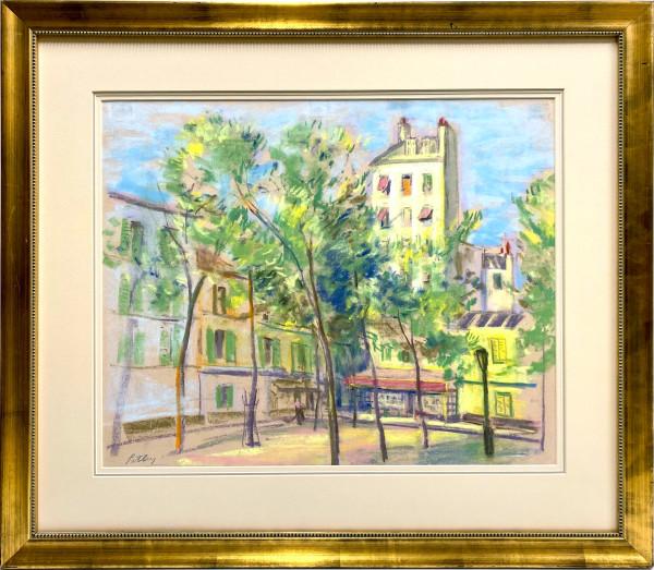2212 - A corner in Paris by Llewellyn Petley-Jones (1908-1986)