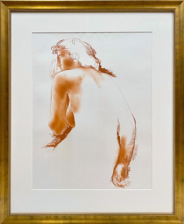2241 - Untitled ( Nude Study II) by Antoniucci VOLTI (1915-1989)