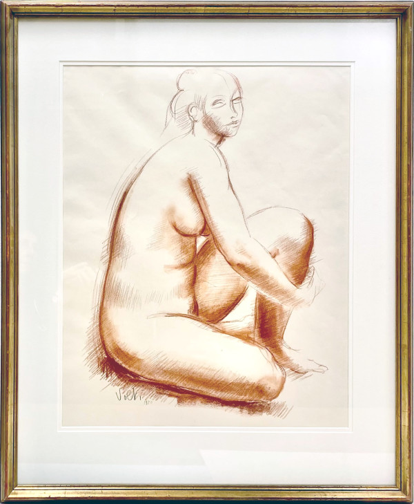 2242 - Figure Study by Antoniucci VOLTI (1915-1989)