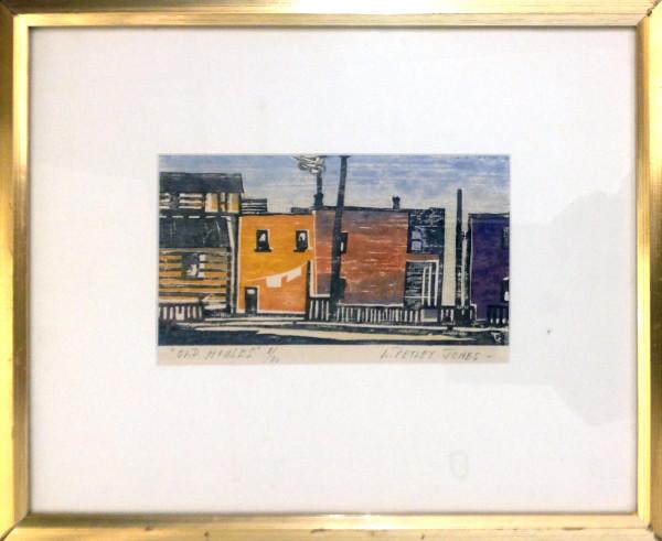2251 - Old Houses by Llewellyn Petley-Jones (1908-1986)