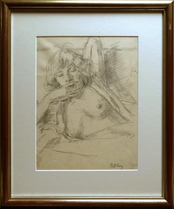 2283 - Untitled (Sketch figure) by Llewellyn Petley-Jones (1908-1986)