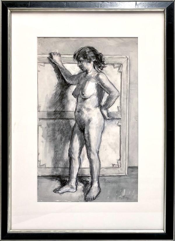 2284 - Untitled ( Standing Nude) by Llewellyn Petley-Jones (1908-1986)