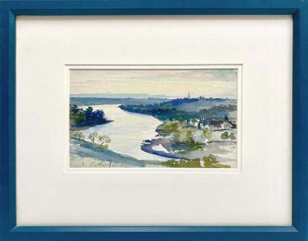 2312 - Blue Scene by Llewellyn Petley-Jones (1908-1986)