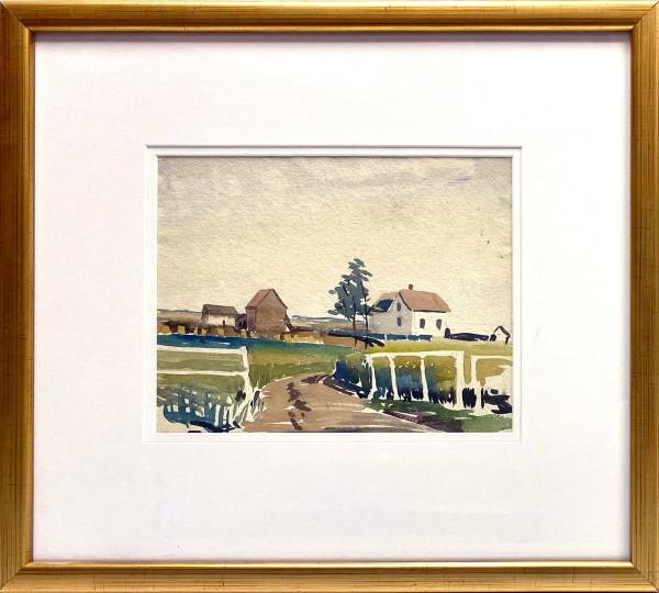 2345 - Outside Edmonton by Llewellyn Petley-Jones (1908-1986)