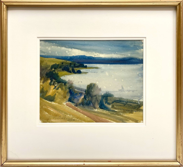 2386 - Wabamun Lake by Llewellyn Petley-Jones (1908-1986)