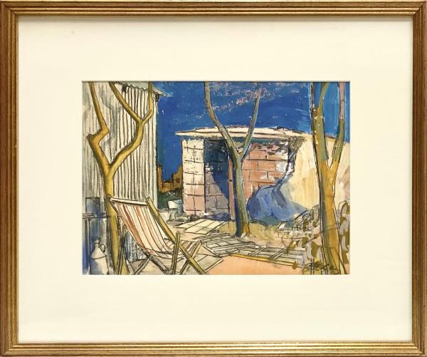 2396 - The Shelter, London by Llewellyn Petley-Jones (1908-1986)