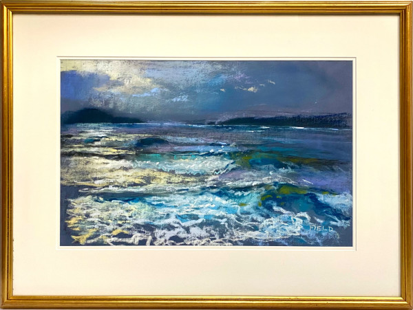 2477 - Storm Waves, Broughton Strait by Robert Field