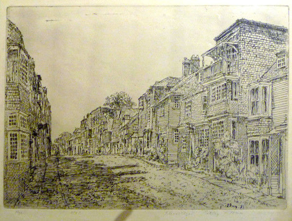 2592 - RYE by Llewellyn Petley-Jones (1908-1986)