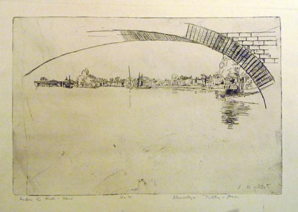 2595 - Under the Arch, Kent by Llewellyn Petley-Jones (1908-1986)