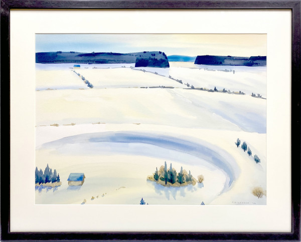 2652 - Alberta Snow by Colin Graham ( 1915 - 2010)