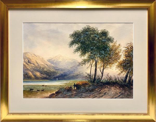 2707 - B.C Lake by W.  J.  Baber
