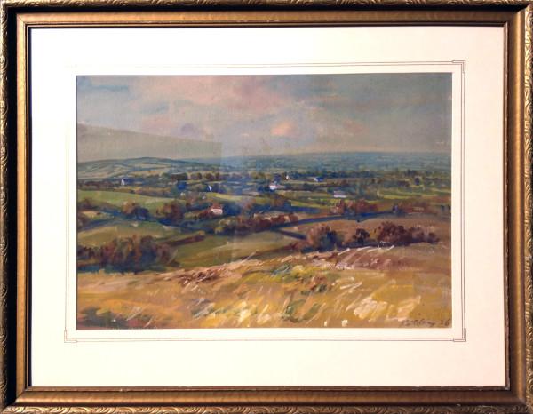 2757 - European Landscape by Llewellyn Petley-Jones (1908-1986)
