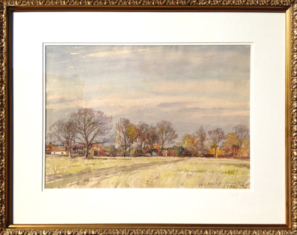 2758 - Late Autumn Light - Richmond Park by Llewellyn Petley-Jones (1908-1986)