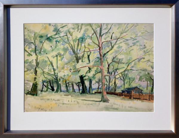 2761 - Autumn Dusk by Llewellyn Petley-Jones (1908-1986)