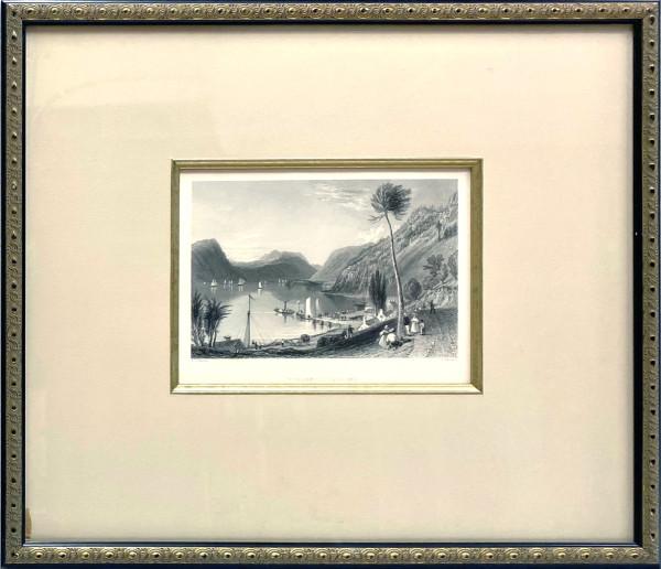 2949 - Peekskill Landing by W.H. (William Henry) Bartlett (1809-1854)