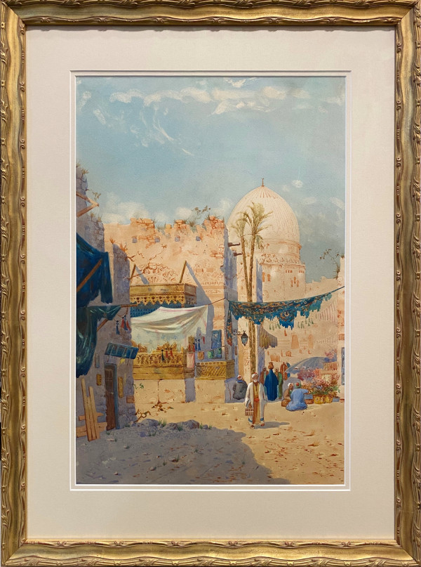 2959 -A Bit of Old Cairo by Augustus Osborne Lamplough BWS, A.O. (1877-1930)