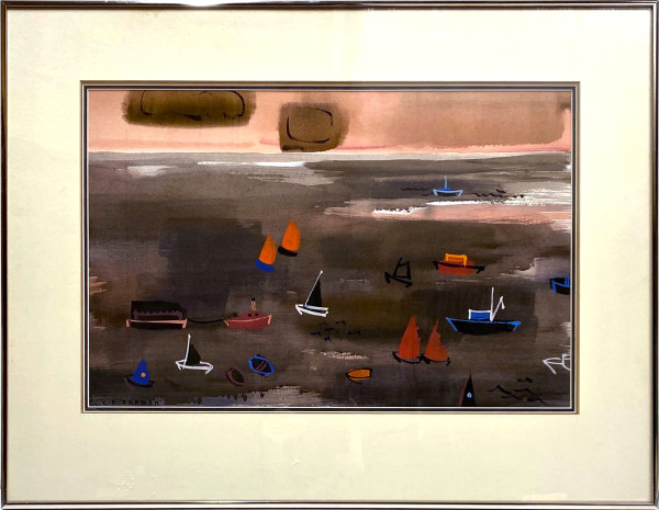 2970 - Coming and Going (Dark Sea) by Colin Graham ( 1915 - 2010)