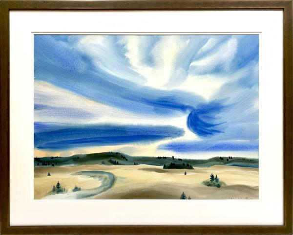 2974 - Sky Turbulence by Colin Graham ( 1915 - 2010)