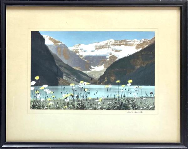 3007 - Lake Louise by Byron Harmon