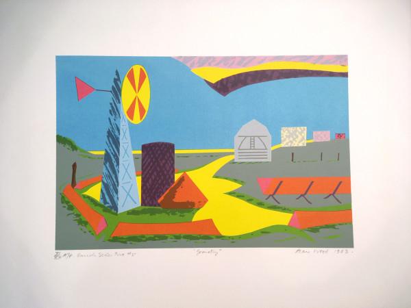 3010 - Ranch Series - Geometry by Alan Wood (1935-2017)