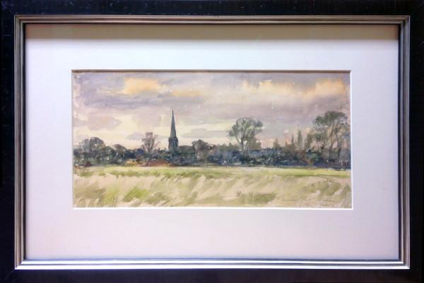 3070 - November Sunset (St. Matthews) by Llewellyn Petley-Jones (1908-1986)