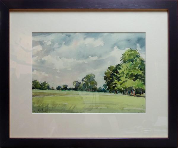 3075 - Untitled Landscape by Llewellyn Petley-Jones (1908-1986)