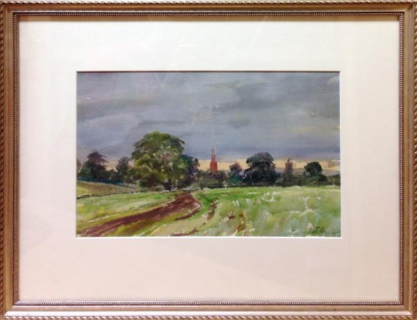 3084 - Untitled Landscape, 1969 by Llewellyn Petley-Jones (1908-1986)