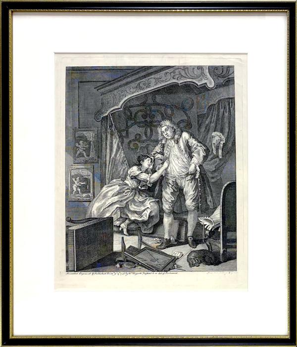 3212 - Triste by William Hogarth (1697 – 1764)