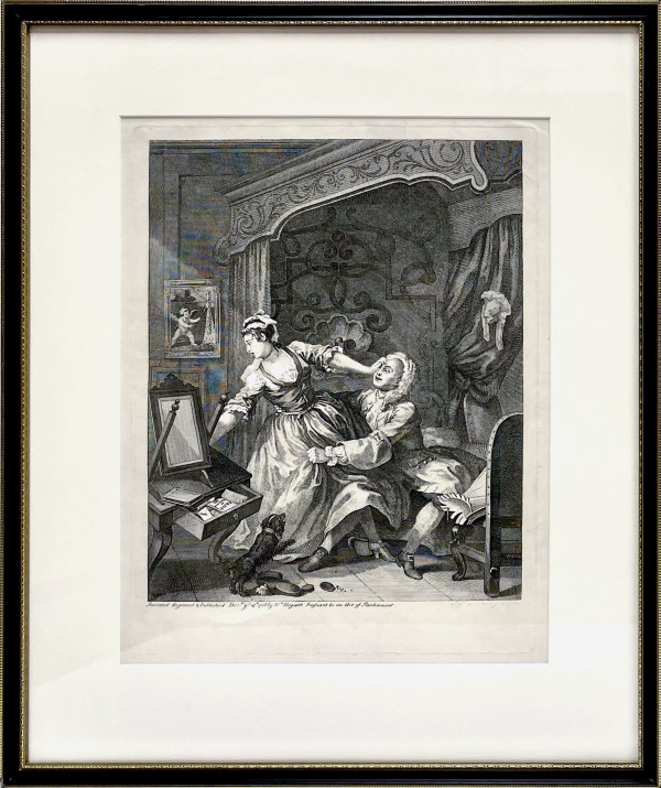 3216 - The Practice of Piety by William Hogarth (1697 – 1764)