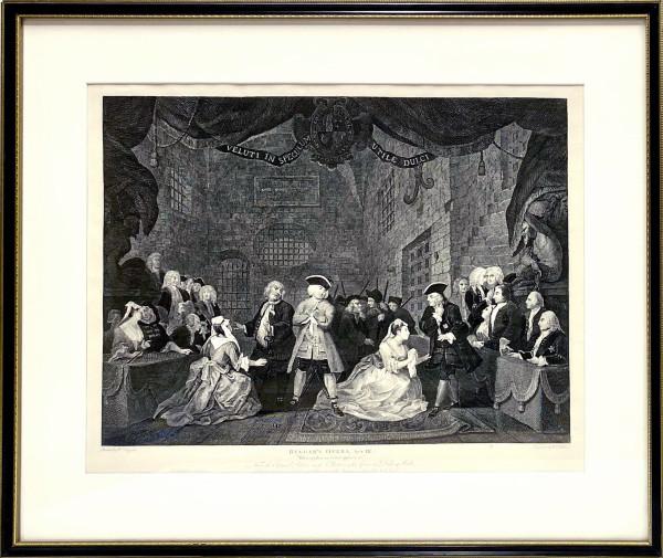 Beggar's Opera, Act III by William Hogarth (1697 – 1764)