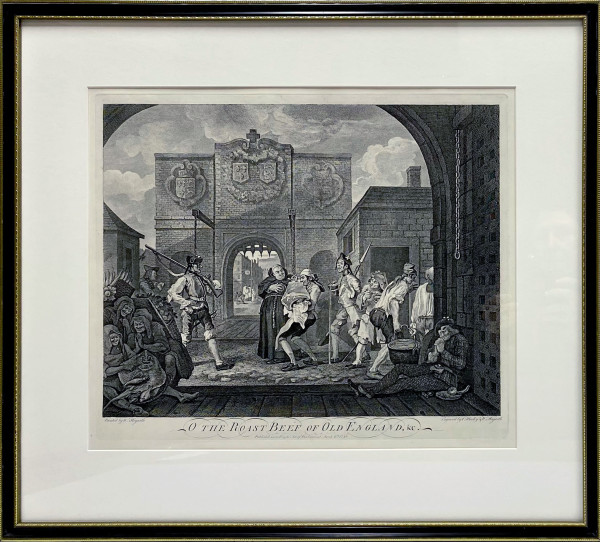 3218 - O the Roast Beef of Old England by William Hogarth (1697 – 1764)