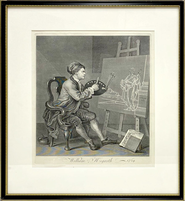 3453 William Hogarth 1764 by William Hogarth (1697 – 1764)