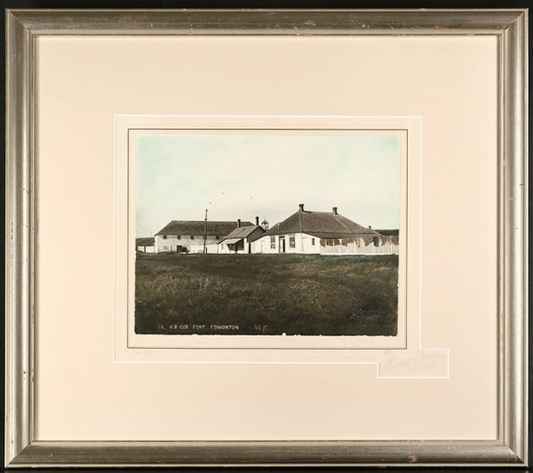 2023 - HB CO Fort Edmonton by Ernest Brown (1877-1951)