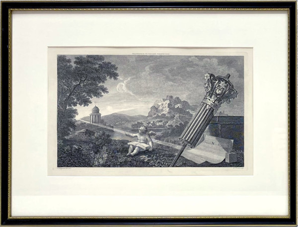 3466 Frontispiece to Taylor's Perspective by William Hogarth (1697 – 1764)