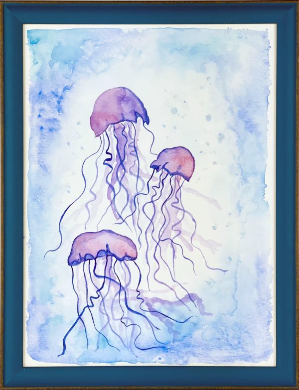 3502 - Jellyfish (Pairs) by FamJam Studios