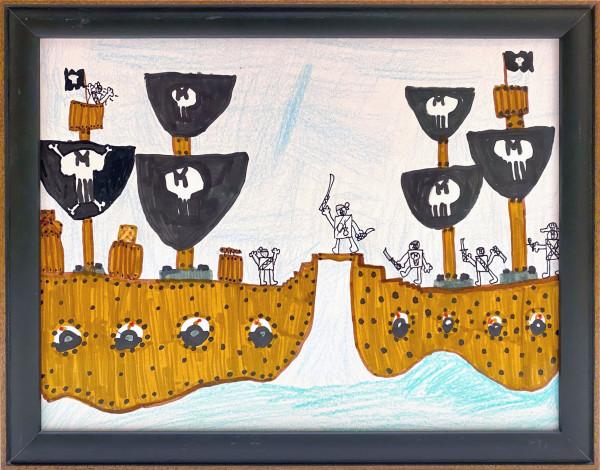 3505 - Pirate Ships by FamJam Studios