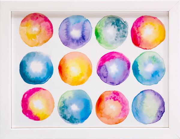 3518 Rainbow Donuts by FamJam Studios