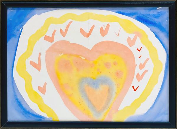 3524 Watercolour Heart by FamJam Studios