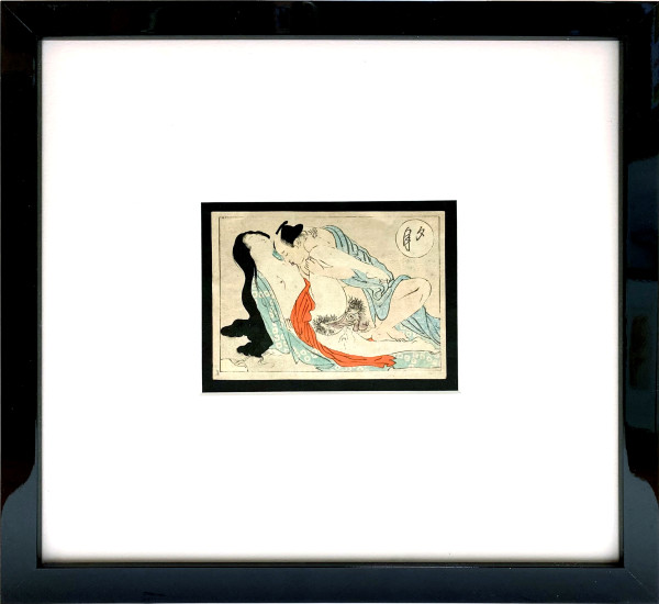 3954 - Shunga -- Spring Pictures #12 by Meiji Era 1868-1912