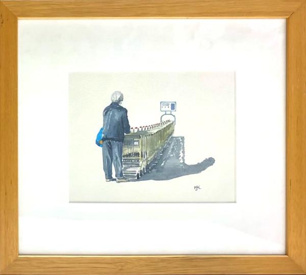 3981 - Shopping Carts by Michael Kluckner