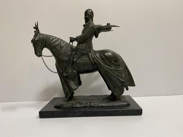 4999 - Medieval Horseman by A. Testi