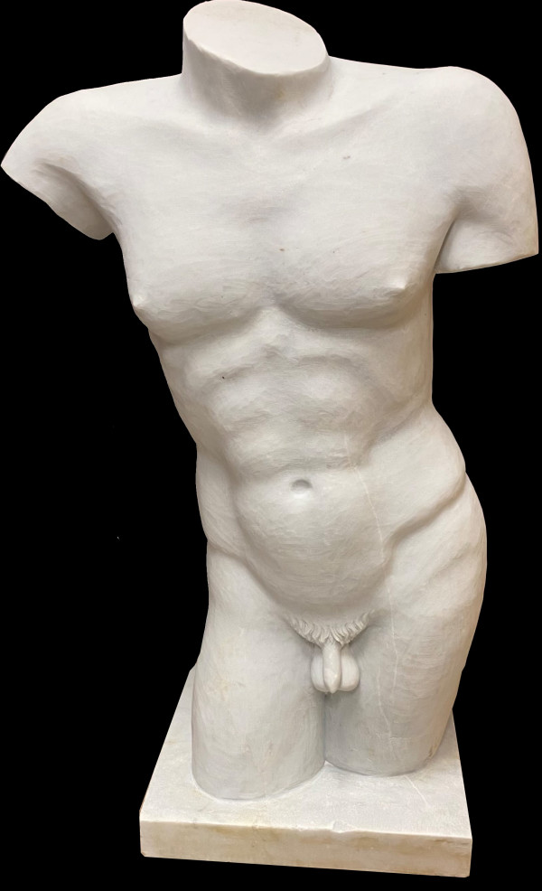 4190 - Male Torso by Unknown